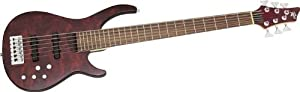 Rogue LX406 Pro 6-String Bass Natural