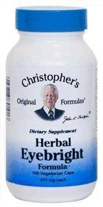 Dr. Christopher'S Herbal Eyebright (100 Caps)