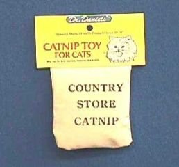 Dr. A.c. Daniels Country Str Catnip Bag Toy Cts Pack Of 12 - 36033