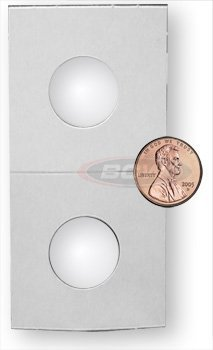 100 Premium BCW 2 X 2 Penny Size Coin Holders - 1