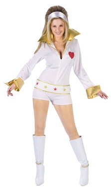 Sexy Female Elvis Adult Womens Halloween Costume