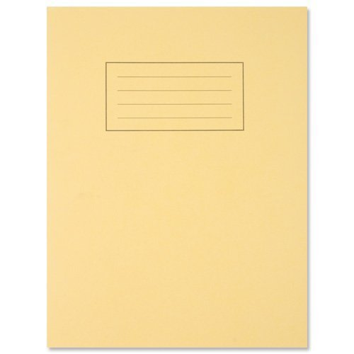 silvine-exercise-book-ruled-and-margin-80-pages-229x178mm-yellowgreenpack-of-2