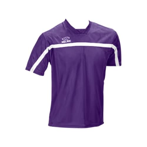 a7c1ec7fb Kelme Pamplona Polyester Custom Soccer Jerseys 128 PURPLE WHITE AS on  PopScreen