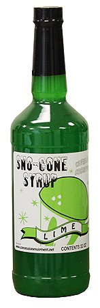 Snow Cone & Shave Ice Syrup 32oz RTU (Lime) (Snow Cone Cups And Syrup compare prices)