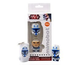 MIMOBOT Star Wars 4 GB USB 2.0 Flash Drive - Rex from Mimoco Inc.