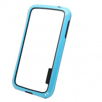 PC+TPU Bumper Frame Protective Case For Samsung Galaxy S4 I9500 --- Color:Black