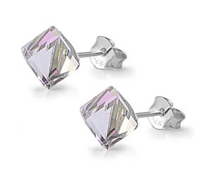 simulated-crystal-aurora-borealis-cube-stud-earrings-sterling-silver
