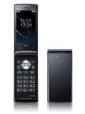 E10K ブラック 携帯電話 白ロム au
