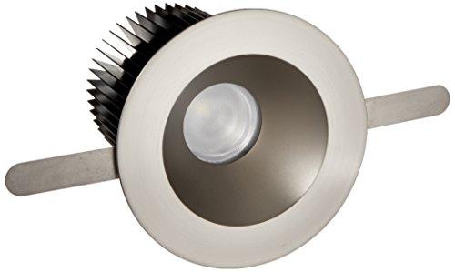 WAC Lighting HR-3LED-T218N-27BN Tesla - LED 3-Inch Shower Round Trim, 28-Degree Beam Angle, Warm Light 2700K