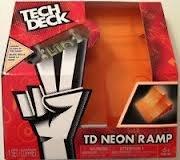 Spinmaster Tech Deck Neon Ramp, Double Bank