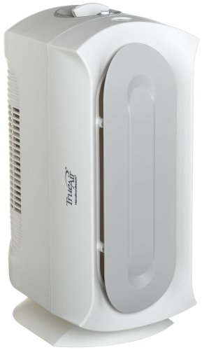 Hamilton Beach 04383 True Air Allergen-Reducing Air Cleaner, White