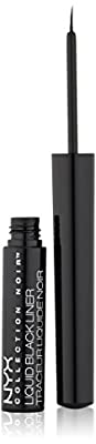 NYX Cosmetics Collection Noir Liquid Liner, Black, 0.123 Ounce