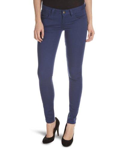 Monkee Genes Organic Sateen Supa-Skinny Unisex Adult Jeans Blueberry 30W x 32L