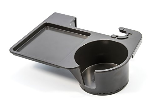 Camco 51472 Snack Daddy Chair Mounted Beverage & Snack Tray - Charcoal
