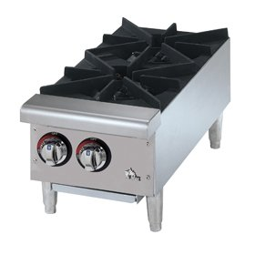 Star 602HF Star-Max Gas 2-Burner 12