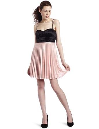 speechless juniors pleated skirt dress black
