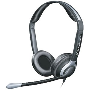 Sennheiser Binaural Headset With Xl Ear Cap (Cc 550)