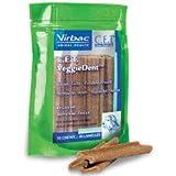 C.E.T. VeggieDent Vegetarian Dental Dog Chew Treats regular bag 30-count