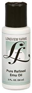 Longview Farms - Pure Refined Emu Oil, , 2 fl oz liquid