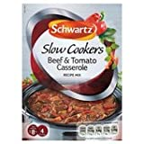 Schwartz Slow Cookers Beef & Tomato Casserole Recipe Mix 40G