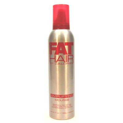 Samy Fat Hair Mousse, Amplifying, 0 Calories, 7 oz.