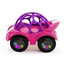Oball Rattle & Roll - Pink - 1