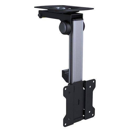 Premium-TV-Deckenhalterung-bis-zu-105-neigbar-fr-Dachschrgen-Hhe-verstellbar-max-Traglast-15kg-max-VESA-100x100-universell-HALTERUNGSPROFI-CL2