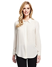 M&S Collection No Peep™ Stud Embellished Blouse