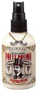 Poo-Pourri Dr. Potts 4 Oz. Proven Potty Potion - A Fresh Herbal Blend Of Tea Tree, Rosemary And Lavender Scent Bathroom Toilet Air Freshner Odor Preventive Spray
