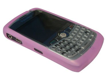 Genuine BlackBerry Curve 8300/8310/8320 PINK Silicone Case/Skin