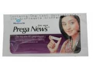 Prega News Pregnancy Test Strip  available at amazon for Rs.99