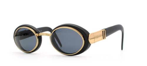 gianfranco-ferre-327-xg1-black-gold-round-certified-vintage-sunglasses-for-mens-and-womens