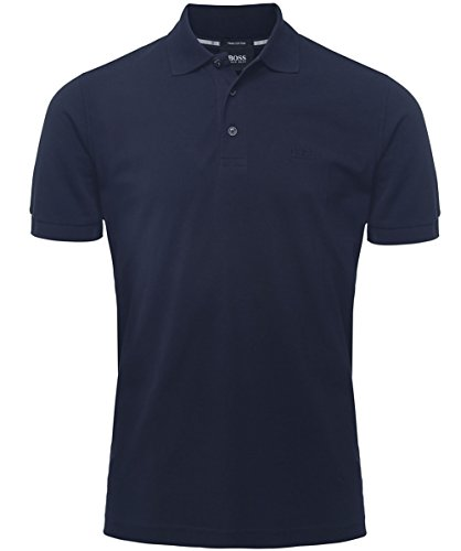 Hugo Boss Black Comfort Fit Camicia di Polo di Ferrara Blu Scuro XXL