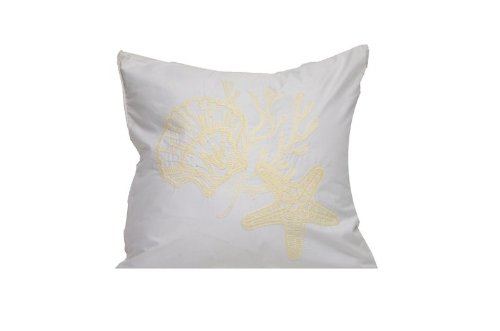 Tommy Bahama Shell Embroidered Decorative Pillow front-810278