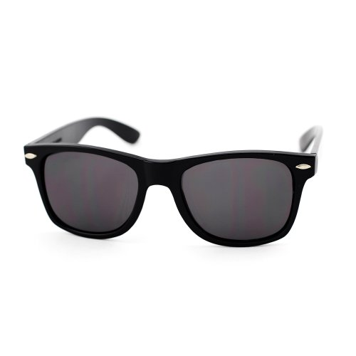 ASO Unisex Wayfarer Sunglasses -22 MM width lens