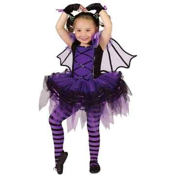 Batarina Toddler Costume Child Clothes Size 3t-4t