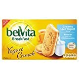 Belvita Breakfast Yogurt Crunch Cream Live Yogurt Biscuits 253G