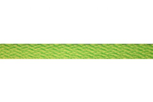 "Kix Remixed Flat (Athletic) Neon Green 36"" 100% Polyester Shoelaces"