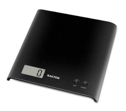 Salter Black Electronic Platform Kitchen Scale by Salter