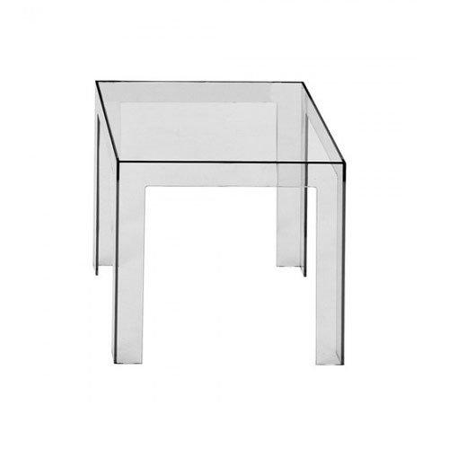 Eur 109 00 - Table de nuit transparente ...