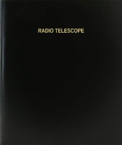 "Bookfactory® Radio Telescope Log Book / Journal / Logbook - 120 Page, 8.5""X11"", Black Hardbound (Xlog-120-7Cs-A-L-Black(Radio Telescope Log Book))"