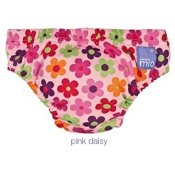 Bambino Mio Swim Nappy Diaper, Pink Daisy, Large back-229091