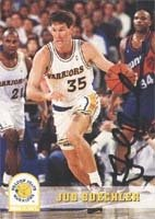 Jud Buechler Golden State Warriors 1994 Skybox Autographed Hand Signed Trading Card. by Hall of Fame Memorabilia