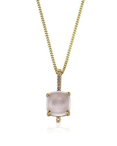 Fascination by Ellen K. Collar Oro Amarillo / Rosa