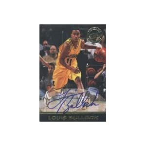 Louis Bullock, Michigan Wolverines, 1999 Press Pass Certified Autograph Autographed Card