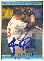 Jimmy Poole Baltimore Orioles 1992 Donruss Autographed Hand Signed Trading Card. by Hall+of+Fame+Memorabilia