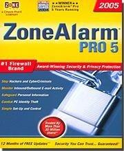 Zone Alarm Pro 5 #1