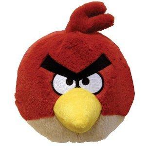 Angry Birds Peluche con sonido, 12 cm - oficial.