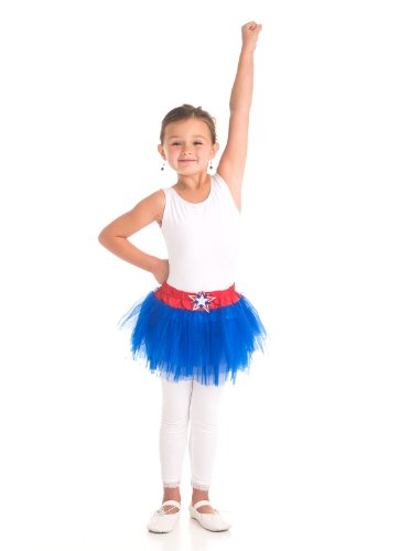 American Hero Patriotic Tutu Costume, Child Size