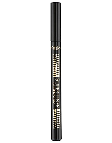 L'Oréal Make Up Designer Paris Super Liner Superstar Eyeliner, Nero
